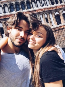 Maxim and Tova from Sweden